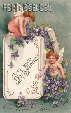Reminiszenzen Ansichtskarten Postcards Webshop Namenstag